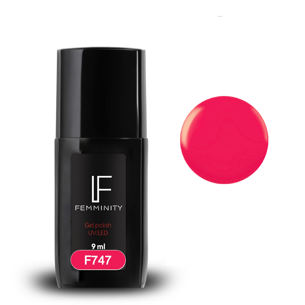 Oje semipermanente F747 9ml - Femminity