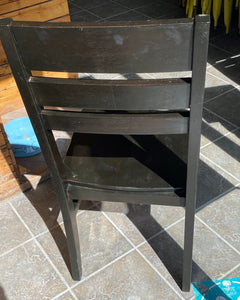 Dark Wooden Dining Chairs