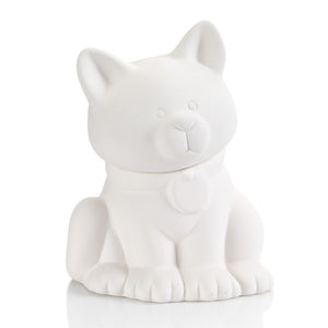"7.75"" Cat Treat Jar"