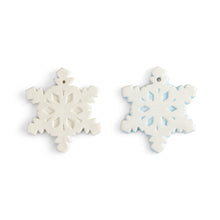 "Load image into Gallery viewer, Snowflake Ornament (3.5""W)"