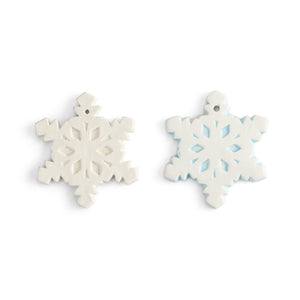 "Snowflake Ornament (3.5""W)"