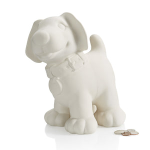 "9.5"" Dog Biggy Bank"