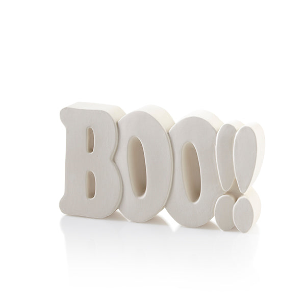 Nothing says Halloween like our BOO!! Word Plaque! The BOO!! Word Plaque adds a bit of spooky fun to anyone's home decor, ideal for Halloween!