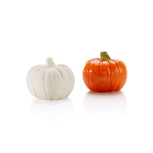 Load image into Gallery viewer, Our Pumpkin Tiny Topper is a welcome addition to any box, plate, platter, or more!  Perfect for Fall or other occasions.  That extra little touch that makes all the difference.  Also great by themselves attached to corks, magnets, gift boxes, and more!