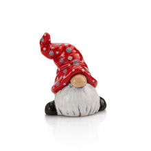 "Load image into Gallery viewer, Our Gnome Tiny Topper is an adorable addition to any box, plate, platter, or more!  This cutie is perfect for that extra ""tiny"" touch that makes any item a little more special. Add them to your party package or gift bag. They are great by themselves, attached to corks, magnets, gift boxes, and more!"