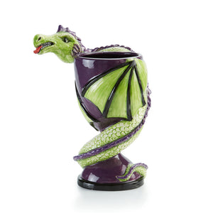 "Dragon Goblet 7""H x 3""D -10oz."