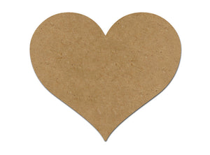This heart plaque makes mosaic and mixed media crafts easy. Add tiles, grout, paint, and more to create a one-of-a-kind creative masterpiece. This shape is made from high quality MDF board.  Project Tile Surface Area 36""