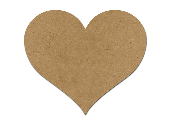 This heart plaque makes mosaic and mixed media crafts easy. Add tiles, grout, paint, and more to create a one-of-a-kind creative masterpiece. This shape is made from high quality MDF board.  Project Tile Surface Area 36