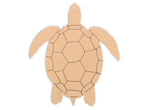 This Sea Turtle Shape makes mosaic and mixed media crafts easy. Add tiles, grout, paint, and more to create a one-of-a-kind creative masterpiece. This shape is made from high quality MDF board.  Project Tile Surface Area 35""