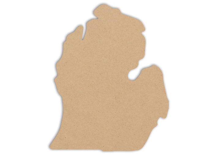 This Lower Michigan Plaque makes mosaic and mixed media crafts easy. Add tiles, grout, paint, and more to create a one-of-a-kind creative masterpiece. This shape is made from high quality MDF board.  There are a ton of artistic opportunities with this plaque, perfect for all ages!  Project Tile Surface Area 76