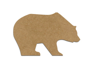 "8"" Bear Plaque (Includes Glue - a Grout Kit and Assorted Venetian Tiles"