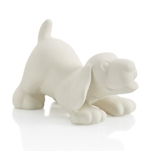 The Ceramic Dog Party Animal is a household favorite!  Paint one and add it to your collection of party animals.