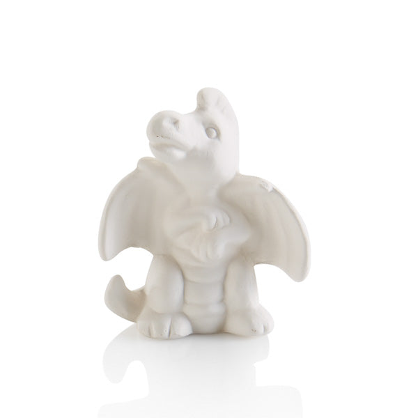 This Ceramic Dragon Tiny Topper is the cutest addition to any box, plate, platter, or more!  Perfect for that extra little touch that makes all the difference. Also paint them by themselves attached to corks, magnets, gift boxes, and more!