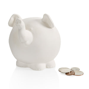 "4.5"" Pudgy Elephant Bank"