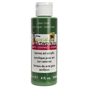 Green Oxide Acrylic Paint (2oz Container) - Not Food Safe