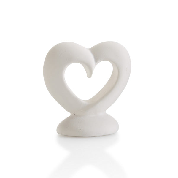 Our Heart Tiny Topper pottery painting piece is the best addition to any box, plate, platter, or more!  Perfect for Valentine's Day or every holiday, season or occasion.