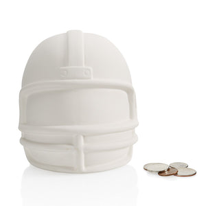 "6"" Football Helmet Bank"