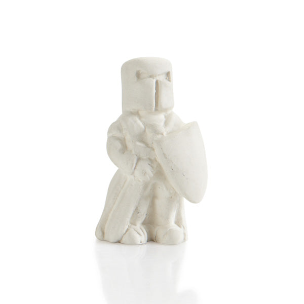 The Ceramic Knight Tiny Topper is the cutest fairytale addition to any box, plate, platter, or of course our Castle Bank and Mug!  Perfect for that extra little touch that makes all the difference. Also paint it by itself attached to corks, magnets, gift boxes, and more!