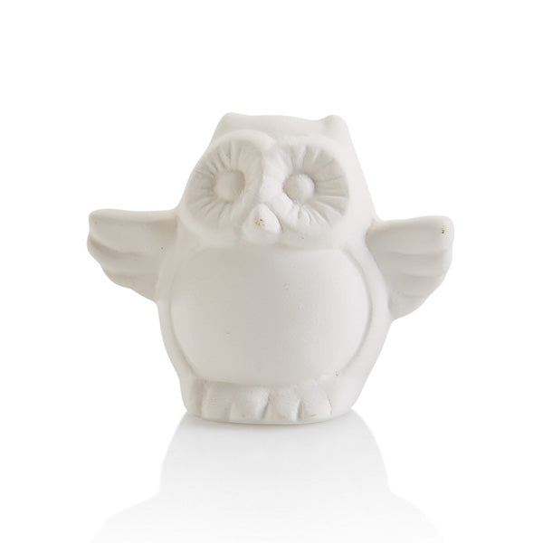 The Owl Topper is one of the best pottery painting piece additions to any box, plate, platter, or more!  Perfect for every holiday, season or occasion.  They're that extra little touch that makes all the difference.  Also great by themselves attached to corks, magnets, gift boxes, and more!
