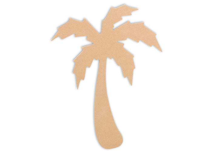 This Palm Tree Shape makes mosaic and mixed media crafts easy. Add tiles, grout, paint, and more to create a one-of-a-kind creative masterpiece. This mosaic plaque is made from high quality MDF board.  Project Tile Surface Area 33