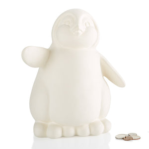 "9.25"" Penguin Biggy Bank"