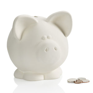 "6.5"" Large Piggy Bank"