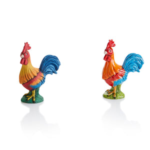 The Ceramic Rooster Party Animal is a farmyard favorite, especially when painted in bright beautiful colors.