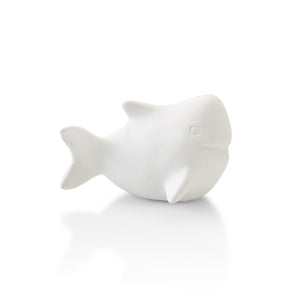 Our Shark Tiny Topper pottery painting piece is one of the best sea creatures ever added to the topper collection.