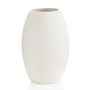 The Tapered Vase stands 10 inches high and has rounded tapered sides.  This ceramic vase is great for bouquets and is very fun to paint!