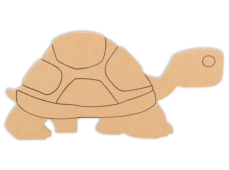 This Turtle Shape makes mosaic and mixed media crafts easy. Add tiles, grout, paint, and more to create a one-of-a-kind creative masterpiece. This mosaic plaque is made from high quality MDF board.  Project Tile Surface Area 43