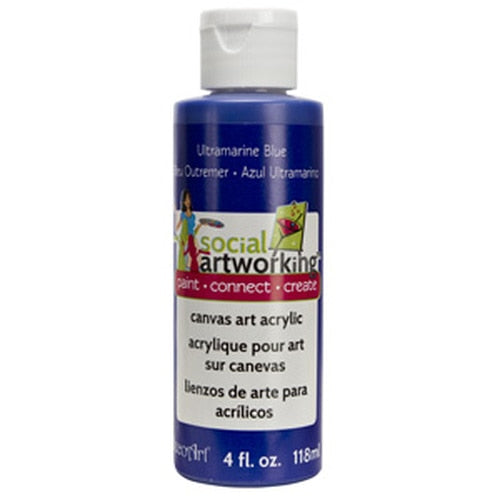 Ultramarine Blue Acrylic Paint (2oz Container) - Not Food Safe