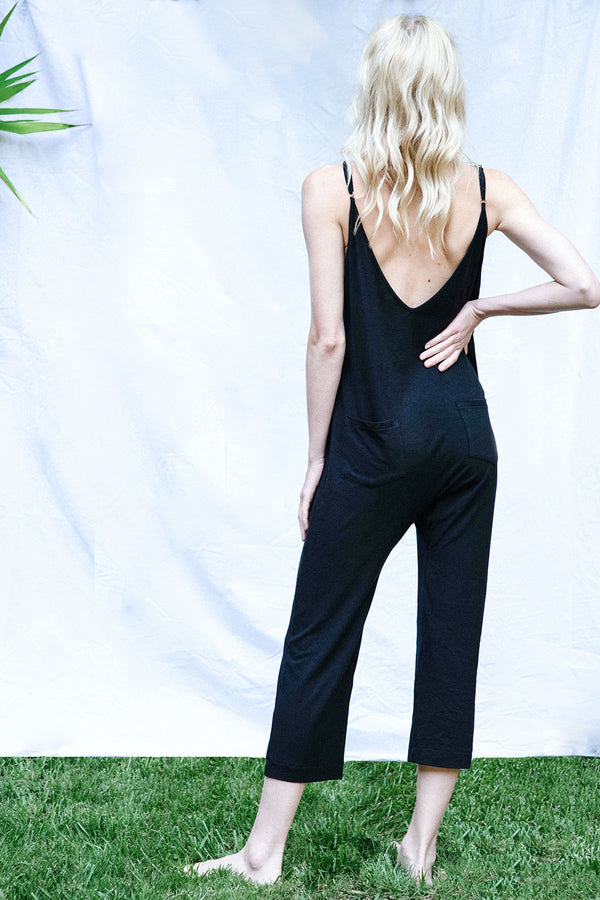 The Brigitte Jumpsuit (Black)