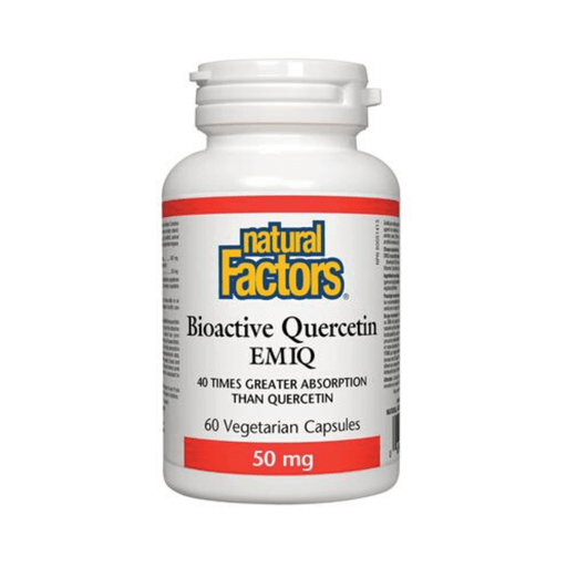 Natural Factors Bioactive Quercetin EMIQ - herbesthealth