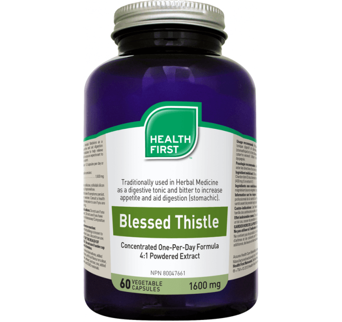 Health First Blessed Thistle - herbesthealth