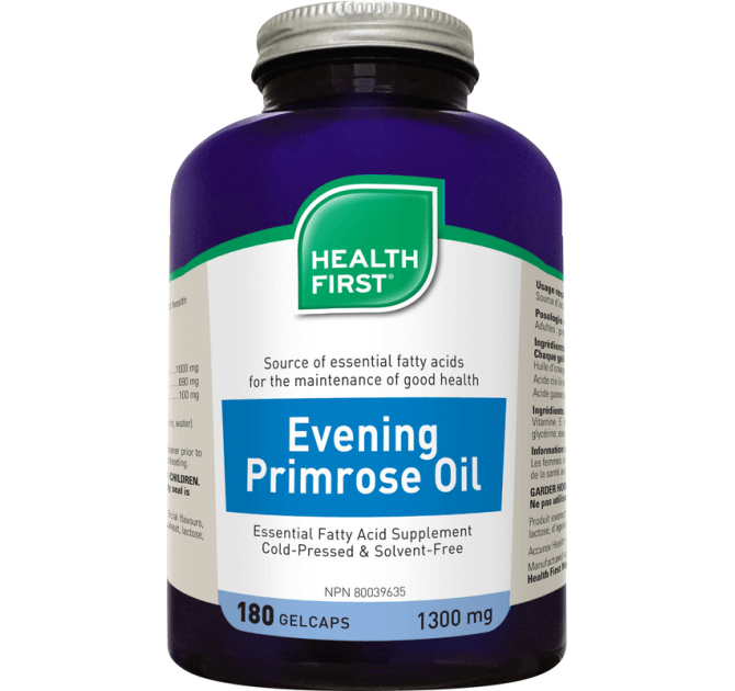 Health First Evening Primrose Oil - herbesthealth