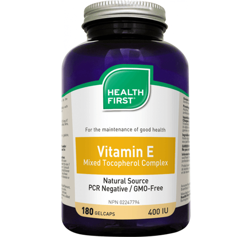 Health First Vitamin E 400IU - herbesthealth