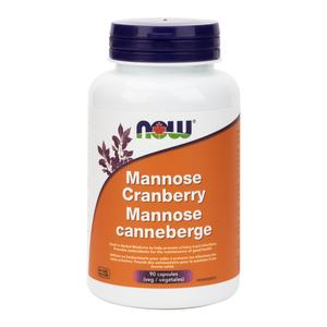 NOW Mannose Cranberry - herbesthealth