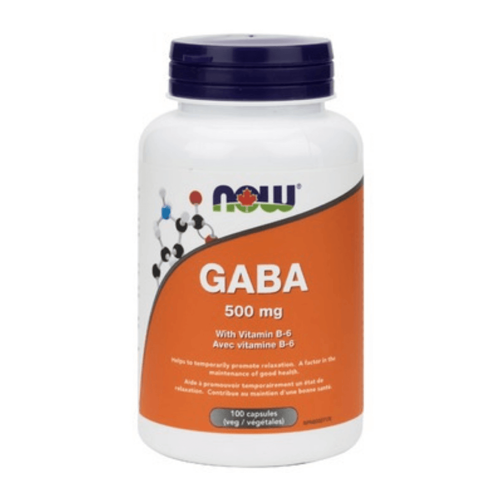 NOW GABA 500mg - herbesthealth