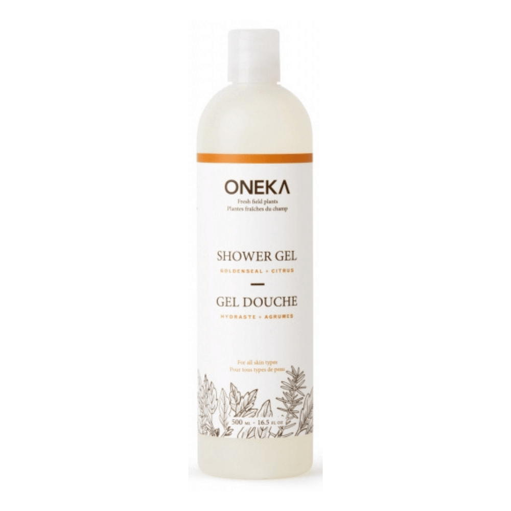 Oneka Goldenseal & Citrus Shower Gel - herbesthealth