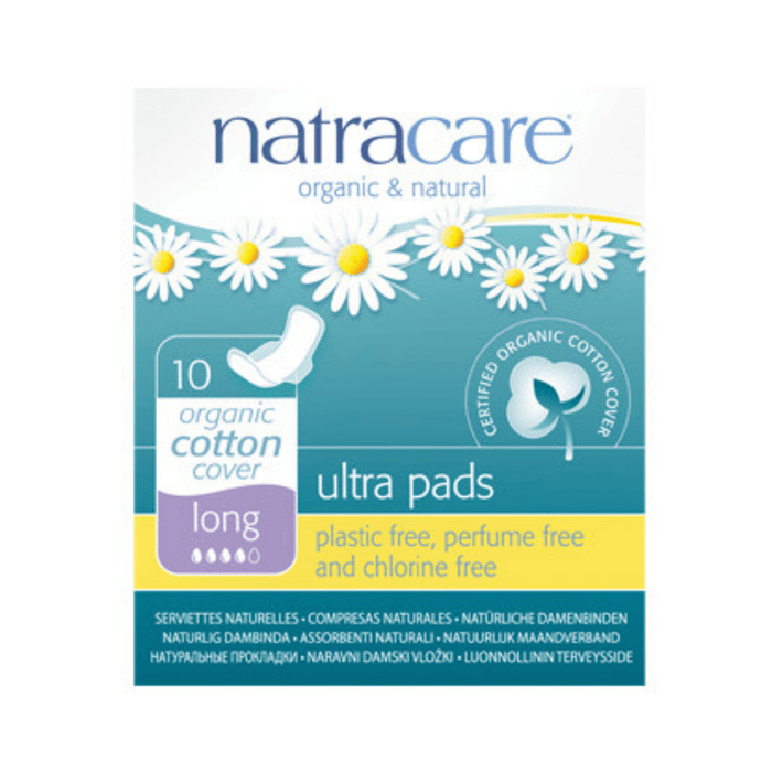 Natracare Ultra Long Period Pads - herbesthealth
