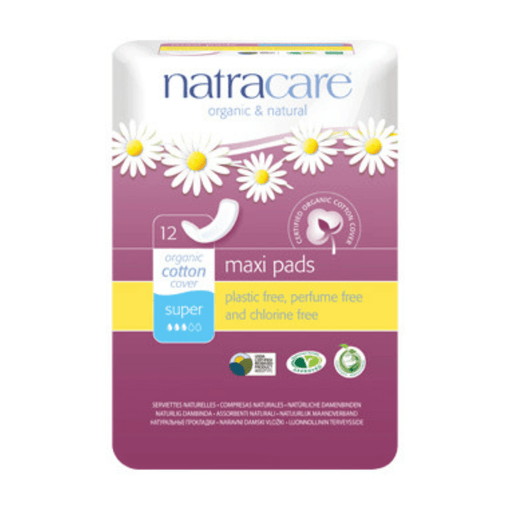 Natracare Super Maxi Pads - herbesthealth
