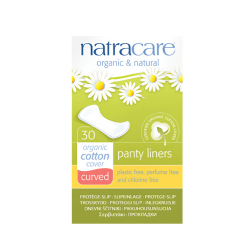 Natracare Curved Panty Liners - herbesthealth