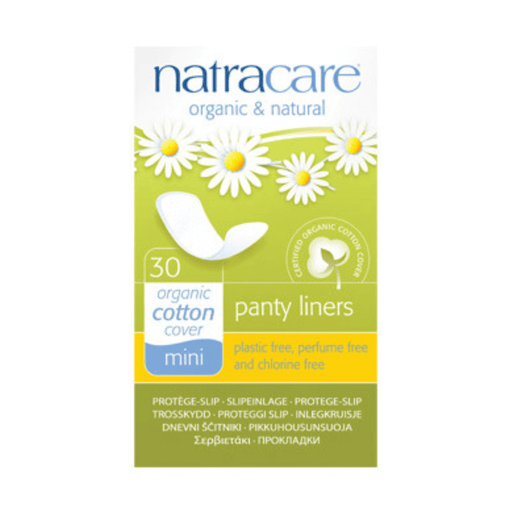 Natracare Mini Panty Liners - herbesthealth