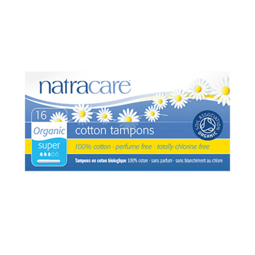 Natracare Super Organic Cotton Tampons with Applicator - herbesthealth
