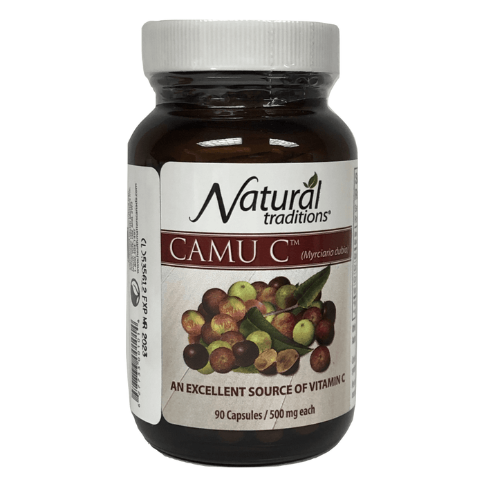 Organic Traditions Camu C 90 Caps - herbesthealth