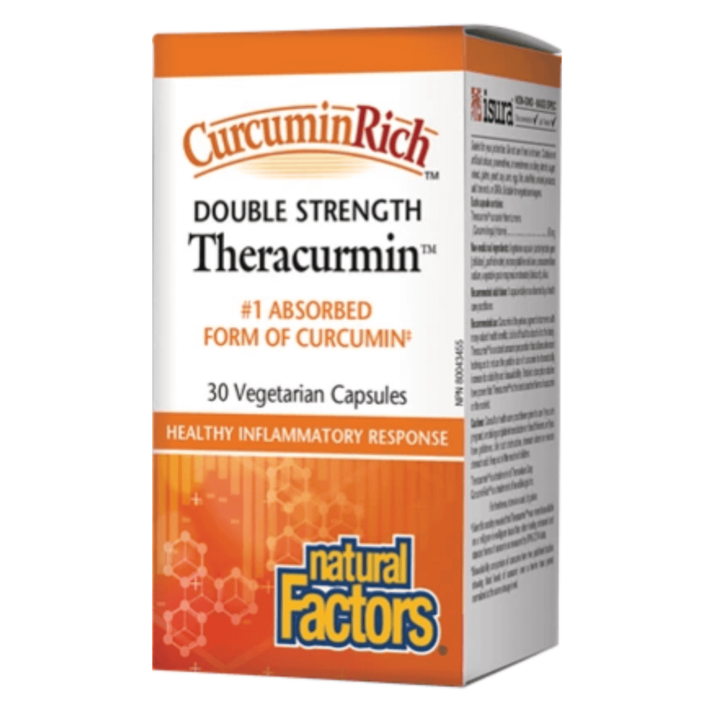 Natural Factors Theracurmin Double Strength 60mg - herbesthealth