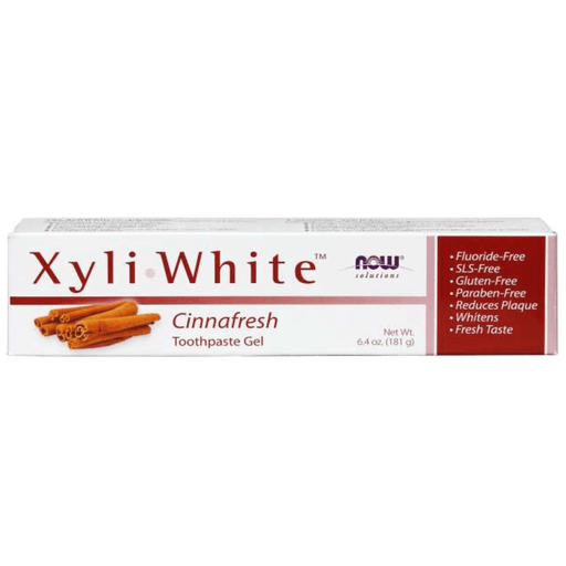 Now Xyliwhite Toothpaste Gel Cinnafresh 181g — herbesthealth
