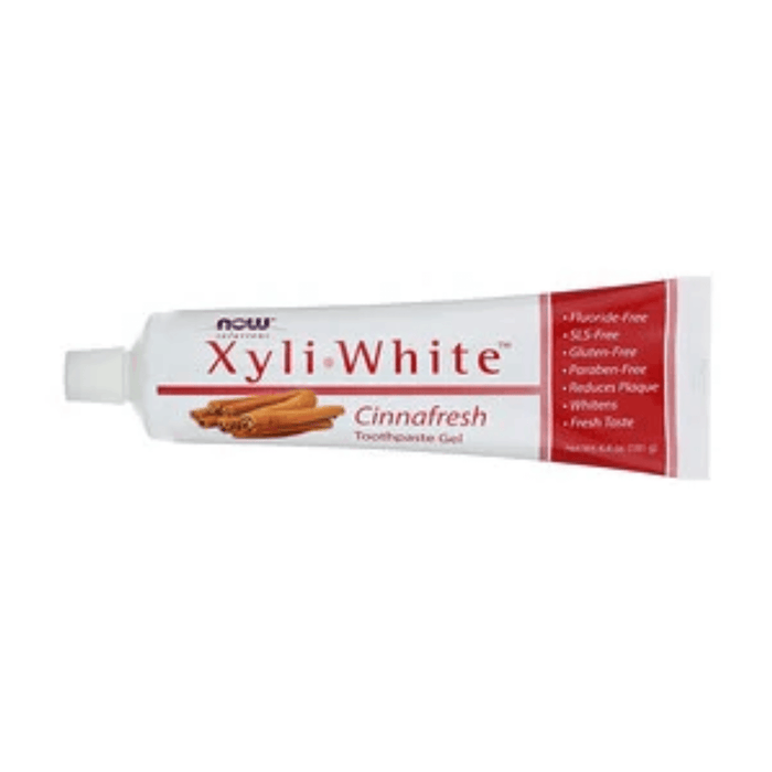 Now Xyliwhite Toothpaste Gel Cinnafresh 181g