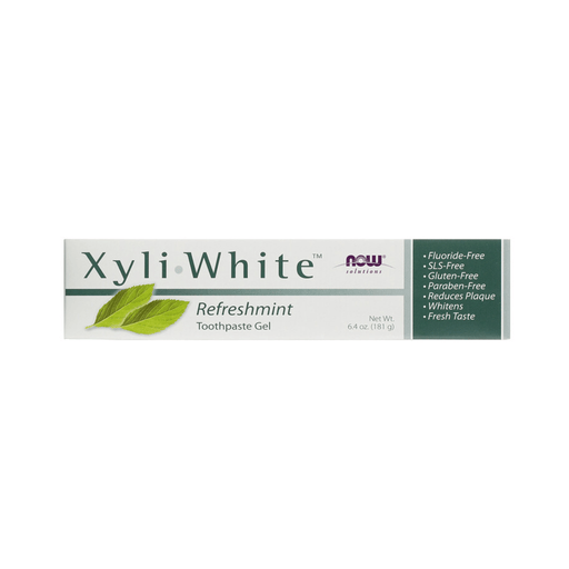 Now Xyliwhite Toothpaste Gel Refreshmint — herbesthealth