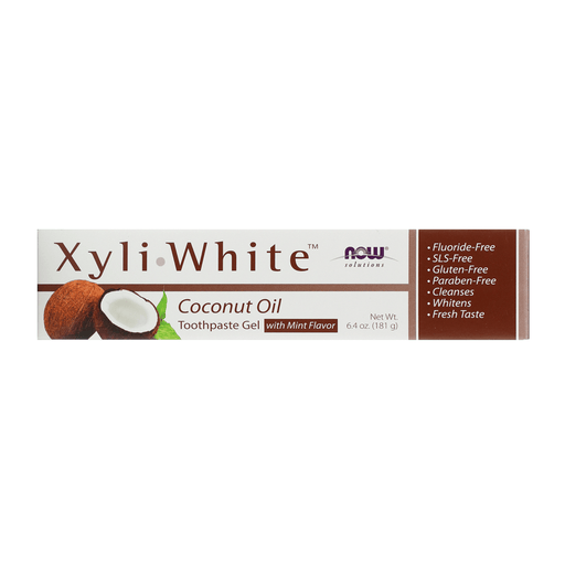 Now Xyliwhite Toothpaste Gel Coconut Oil — herbesthealth
